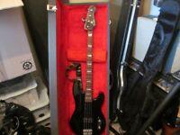 fender bass guitar,mexican big block