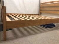 Double Bed - Wooden Frame, bought from Dreams