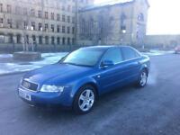 2003 Audi A4 2.0 SE 130BHP 12 Months MOT Leather Seats 2 Keys! + Not Audi A4 VW Golf