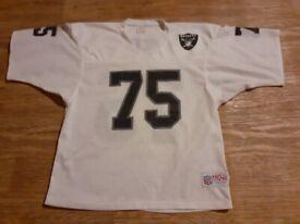 Raiders American football shirt 75 pro one