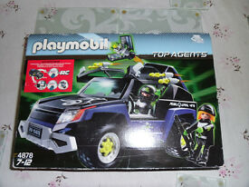 Playmobil Top Agents Land Rover
