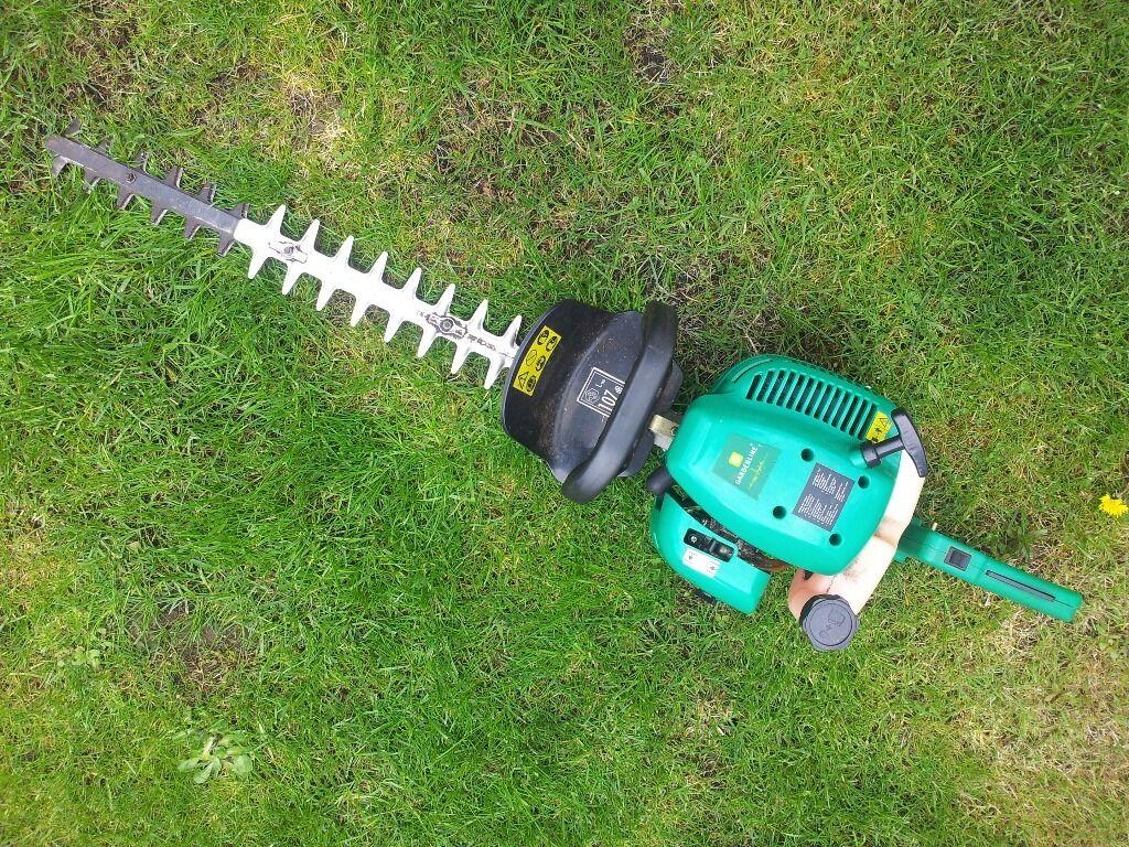 gardenline petrol hedge trimmer instructions