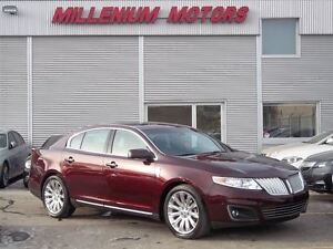 2011 Lincoln MKS ECOBOOST AWD / NAVI / B.CAM / LOADED