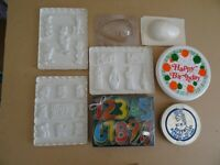 COOKIE CUTTERS, CHOCOLATE MOULDS, ETC.