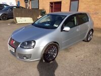 EYE CATCHING VOLKSWAGEN GOLF GT TDI SPORT 170BHP