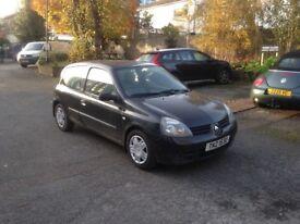 Renault Clio 2007 black 3 door