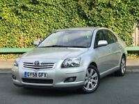 Toyota Avensis 2.0 D-4D TR 5dr 2008 (Full Service History, 1 Former Keeper)