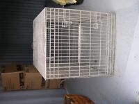 Extra Large Galvanised Wire Dog Cage
