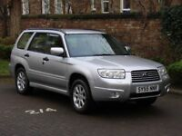 AA WARRANTY!!1 55 REG SUBARU FORESTER 2.0 X 5dr, 1 YEAR MOT, 4WD, 4X4, FINANCE AVAILABLE NEWER SHAPE