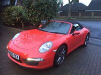 Porsche 911 - 991 3.4 Carrera 2dr PDK Box - 2013, ONLY 7000 MILES, 1 OWNER, 350BHP, STUNNING MACHINE