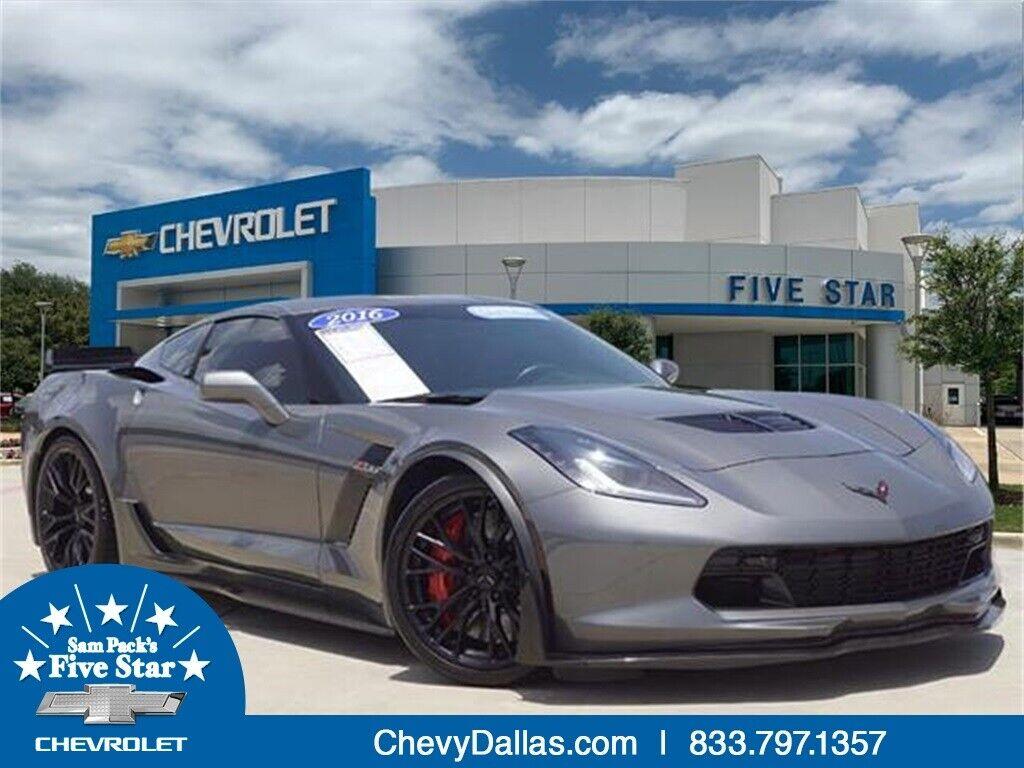 2016 Gray Chevrolet Corvette Z06    C7 Corvette Photo 1