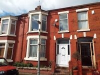 4 Bed Terraced House Liverpool 15 - Close to Penny Lane/Allerton Road