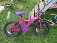 Apollo star girls bike age c5-8 appx