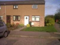 Sunny 2 bedroom family home with private garden in South Queensferry available March - NO FEES
