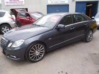 "Mercedes Benz E250 bluef-cy Agarde CDI,4 door saloon,FSH,full MOT,full leather interior,19"" alloys"