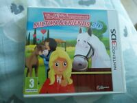 Nintendo 3DS Game - The Whitakers Present Milton and Friends 3D - Boxed and Perfect