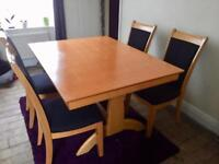 BARGAIN !!!** Dining room table and chairs**