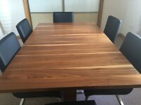 Extendable Dining Table & 6 Chairs