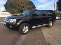 NISSAN NAVARA D22 2004 MODEL 4x4 WITH 10 MONTHS MOT