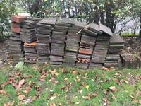270 used clay roof tiles