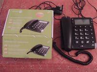 A Doro Magna 4000 loud corded telephone