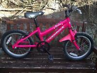 Ridgeback Melody Girls/ child bike age 4-6 approx
