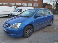 Honda, CIVIC, Hatchback, 2004, Other, 1590 (cc), 5 doors