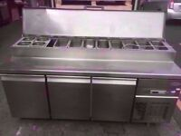 BUFFET FASTFOOD TOPPING FRIDGE SALAD BAR MACHINE CANTEEN SHOP TAKEAWAY DINER RESTAURANT CAFE KITCHEN