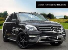 Mercedes-Benz M Class ML250 BLUETEC AMG LINE PREMIUM (black) 2014-11-29