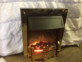 Electric Coal and Flame Effect Fire