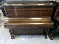Lovely Mahogany 'Emile Auberon' Upright Console Piano - CAN DELIVER