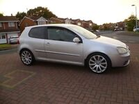 2005 Volkswagen Golf GT TDI, Sat nav, Very clean