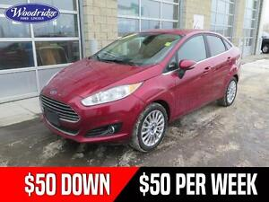2015 Ford Fiesta Titanium 50/50 SALE! AUTO, NO ACCIDENTS, LEA...