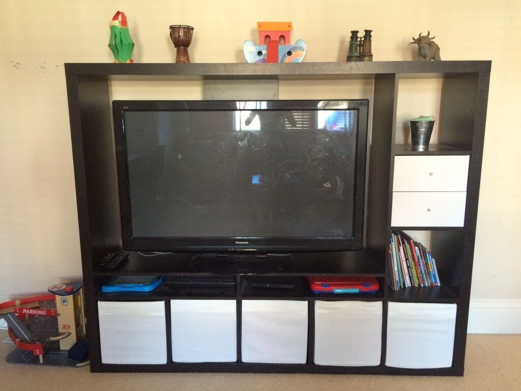 IKEA Expedit TV Media unit (LapplandKallax)  in Bournemouth, Dorset  Gumtree # Meuble Tv Ikea Kallax