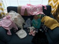 FREE baby clothes brand new mostly girls ranging from newborn-9mth