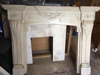 Grand fireplace cheap at £80
