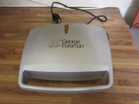 George Foreman Compact 2-Portion Grill