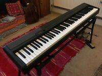 **SOLD** Casio weighted full 88 keys keyboard electronic piano CDP-100 with stag stand