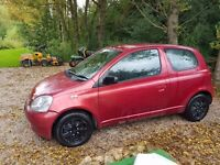 2002 TOYOTA YARIS | NO MOT | SPARES/REPAIRS | OFFERS ACCEPTED