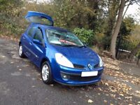 IDEAL 1st 2nd CAR/08 REG AUTO CLIO EXPRESSION EASY TO DRIVE WITH PLENTY OF POWER/ford fiesta