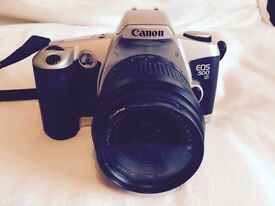 Cannon EOS 500 plus fitted case