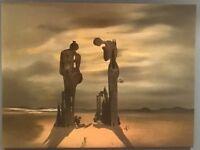 Dali canvas painting