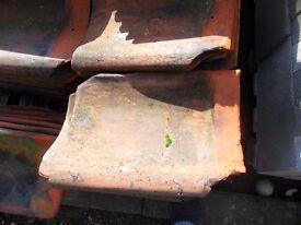 Clay pantiles, handmade, around 1500 still lots of life