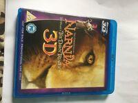 NARNIA VOYAGE OF DAWN TREADER 3D BLU RAY DVD