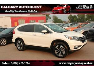 2015 Honda CR-V Touring AWD/NAVI/B.CAM/LEATHER/ROOF