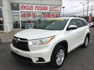 2015 Toyota Highlander LE, 8 Passagers, Traction avant