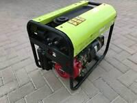 PRAMAC ES3000 Long Run Generator with Petrol Honda GX160 Engine and two 110V outlets