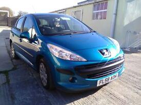 image for Peugeot, 207, Hatchback, 2008, Manual, 1360 (cc), 5 doors
