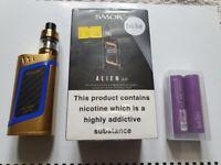 SMOK® Alien Kit (e-Cigarette/Vaper) Complete in Box + Spare Batteries.