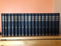 Complete set of Chambers' Encyclopaedia, 1950 edition, plus 1956 world survey FREE